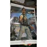Poster Revista Gente Freddy Mercury De Queen En La Plata