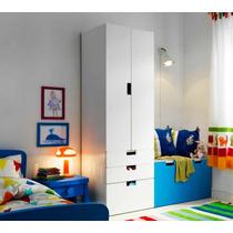 Mueble Tipo Ikea Stuva Ropero De 2 Puertas Y 3 Cajones