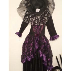Disfraz Catrina Muerte Adulto Mujer Y Sombrero Envio Gratis