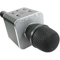 Microfono Inalambrico Karaoke Portatil Con Bocina Integrada
