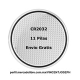 11 Baterias Cr2032 Pila 3v Cr 2032 Litio Boton Envio Gratis