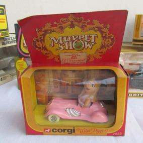 Antiguo Auto De Miss Piggy Muppet Show Corgi, C/caja, Gotech