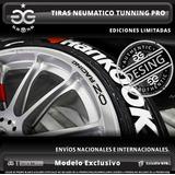 Tiras Tunning Neumaticos Autos + Calcos De Regalos !!!
