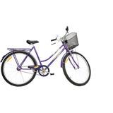Bicicleta Monark Tropical Fi Violeta