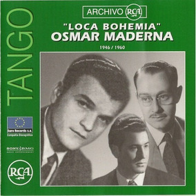 Cd Tango- Osmar Maderna- Original