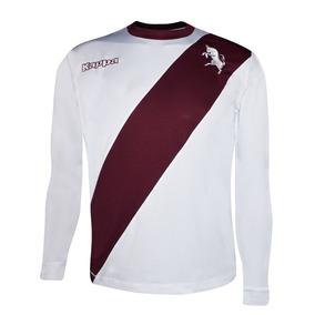 Playera Jersey Futbol Caballero M. Larga Torino Visita Kappa