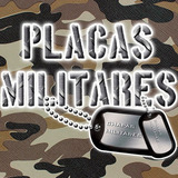 Placas Militares Personalizadas (acero Inoxidable)