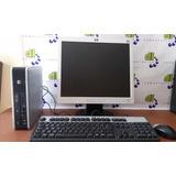 Computadoras Economicas Dell Hp Core 2 Duo 2gb Lcd 17 Cyber