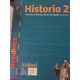 Libro Historia 2do. Año, Nuevo!!