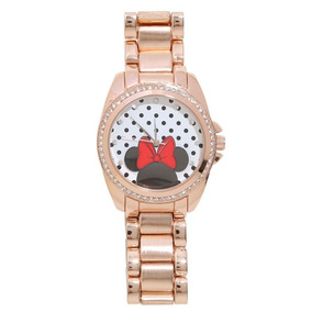 Minnie Mouse Exclusivo Reloj Para Dama Disney Original