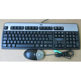 Teclado Y Mouse Ps2 Hp Envios