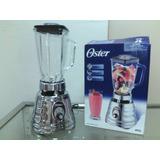 Licuadora Oster 4655 Cromada,vaso Vidrio,3 Velocidades,nueva