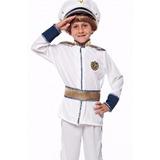 Fantasia Marinha E Força Aérea Infantil Pronta Entrega