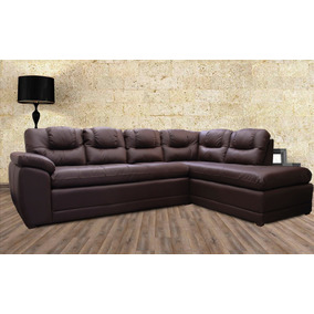 Sala De Piel - Verona - Esquinera L - Sofa Y Chaise Lounge