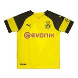 Camisa Puma Borussia Dortmund Home 2019 Juvenil