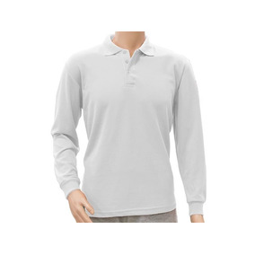 Remera Polo Pique Manga Larga Adulto Ae Uniformes- Disershop