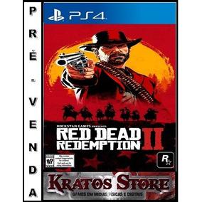 Red Dead Redemption 2 Ps4 - Mídia Física Leia Todo Anúncio