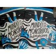 Mundo De Los Monstruos Submarinos - Ninja - Casarli - 2017