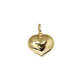 539cc97f02208 Pingente Coração Ouro 18k - Cod.17780 - Cor Ouro Amarelo
