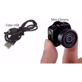 Mini Micro Camera Espia Dv Fimadora Hd 720p Menor Do Mundo