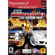 Dvd Original Ps2 Midnight Club 3 Dub Edition Remix.