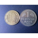 Moneda Alemania Federal 1 Mark Niquel 1991 Ceca J (c27)