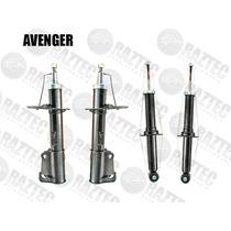Kit Amortiguadores Avenger 07-15 Delanteros Y Traseros Gas