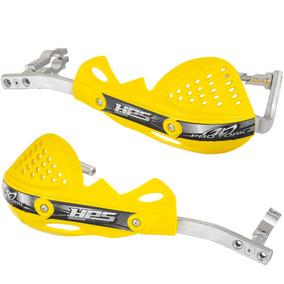 Protetor De Mão Pro Tork Hps Motocross Trilha Amarelo