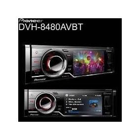 Frente Dvd Pioneer Dvh 8480 Avbt Somente A Frente