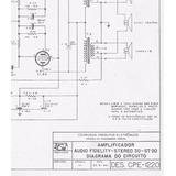 Esquema Eletrônico Amplificador Cosmoson 3d-st-20 Via Email