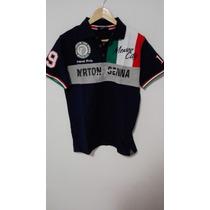 Camisa Tipo Polo Ayrton Senna Gp De Formula 1 De Mexico 1989