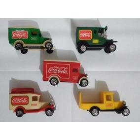 Coleção Coca-cola Mini Caminhões Anos 90