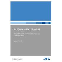 List Of Mak And Bat Values 2012: Maximum Concen Envío Gratis
