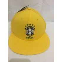 Boné Nike Brasil Amarelo Original