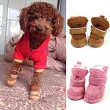 4 Piezas Zapatos Para Perro Mascota Envio Gratis