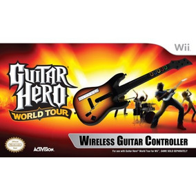 Wii Guitar Hero World Tour - Guitarra Stand Alone