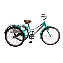 Tricicleta Para Adulto Rodada 26 Canastilla Trasera Retro