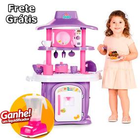 Cozinha Infantil Calesita Le Grand Chef Frete Grátis Brinde