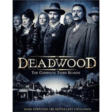Dvd Deadwood - 3ª Temporada - Original Lacrado