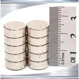 Ima De Neodímio / Super Forte / 10mm X 5 Mm * 10 Peças*