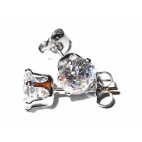 Aros De Plata 925 Cristal Swarovski Corona Elegancia Joyas