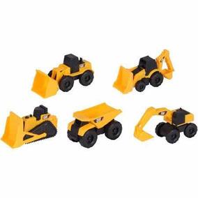 Caterpillar Construcción Mini Maquinas 5 Pack