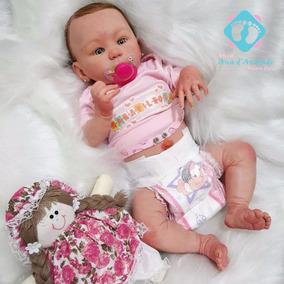 Bebe Reborn Kylin Linda Boneca Detalhes Reais Muito Barata