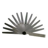 Calibre Válvula Folga 0,05mm A 1mm 20 Lâminas Profissional