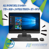 All In One Dell I5 6400+ 1tb+ 8gb+ 24 Pulg Touch+ Bt+ W10