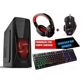 Cpu Gamer Amd A4 8gb / 1tb/ Radeon 2gb / Kit Gamer Mecanico