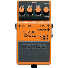 Pedal De Guitarra Ds-2 Turbo Distortion - Boss C/nf
