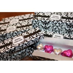 10 Cajas Con 5 Bombones Para Casamiento Y/o Quince!!!