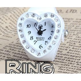 Anillo Reloj San Valentin De Corazon!!