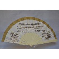 Abanicos Invitacion Impreso Con Caja Xv 15 Años Boda Bautizo